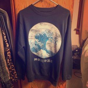 Big Wave Earthbound Crewneck Sweatshirt